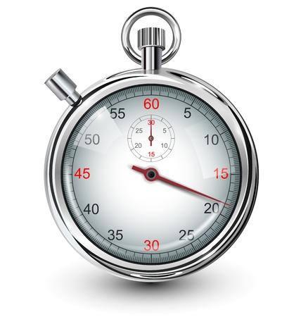 Cronómetro, ilustración vectorial. Ilustración de vector