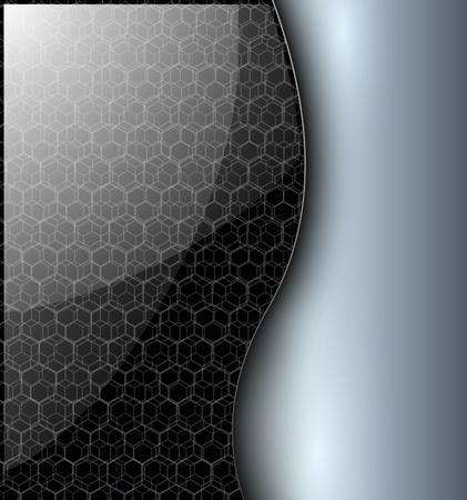 Abstract background elegant grey, vector. Stock Vector - 13181639