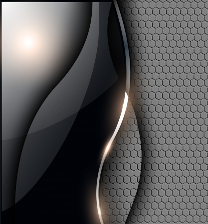 Abstract background, grey black, EPS10 transparency.