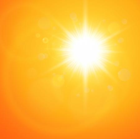 sonne: Sommer natürlichen Hintergrund mit Vektor so Illustration