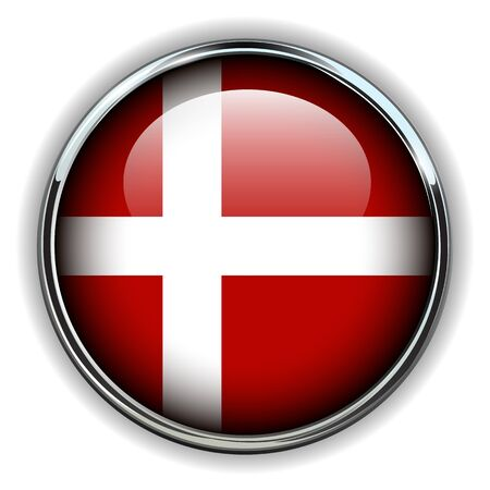 denmark flag: Denmark flag button