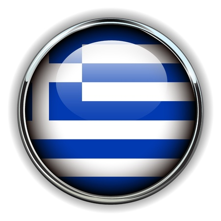 greece flag: Greece flag button