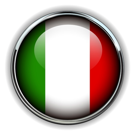 iconic: Italy flag button