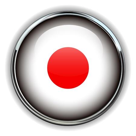 japan flag: Japan flag button