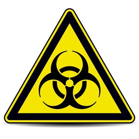 Biohazard, signo. Foto de archivo - 17777751