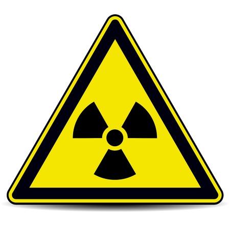 Radiation danger sign  Stock Vector - 17777750