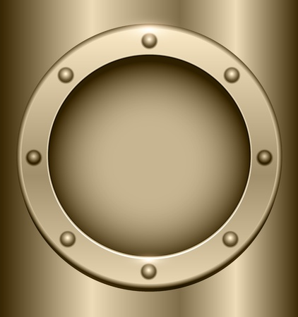 3D metal background. Stock Vector - 18677449