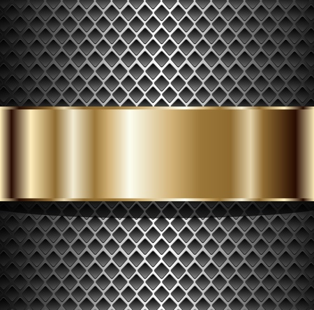 Background elegant metallic, illustration Vector