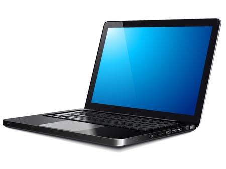 Laptop, modern computer Stock Vector - 19247868