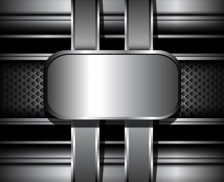 3d background: 3D Background vector metallic.