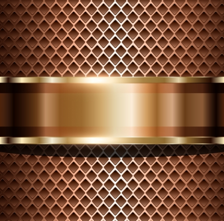 ebon: Background elegant metallic, vector illustration