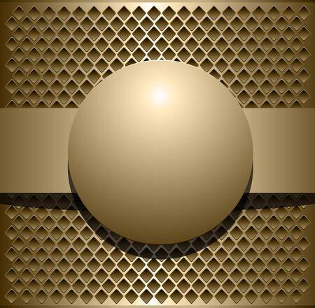 metallic background: Background metallic, vector illustration Illustration