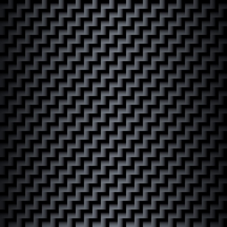 Seamless texture background - black surface with interesting square pattern Vector