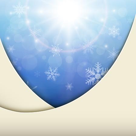 Winter christmas background. Stock Vector - 19973530