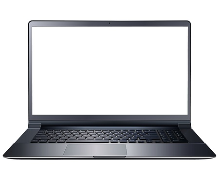 Laptop computer isolated Stock Vector - 20478002