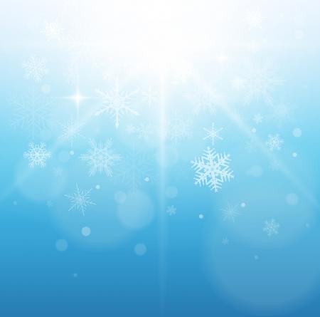Christmas, winter background. Stock Vector - 22765175