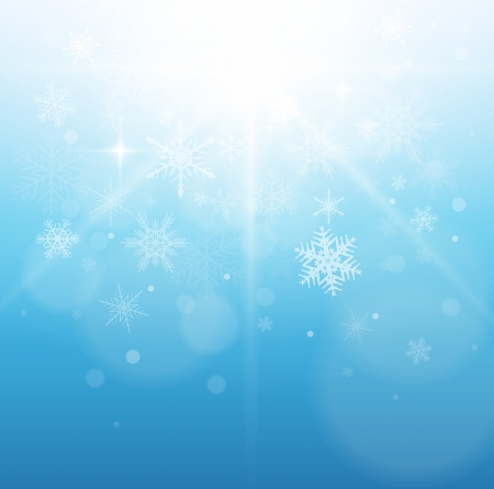 Christmas, winter background. Stock Vector - 22765175