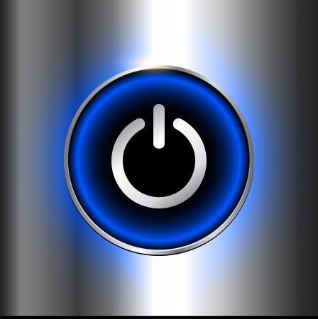 Power button design. Stock Vector - 22765214