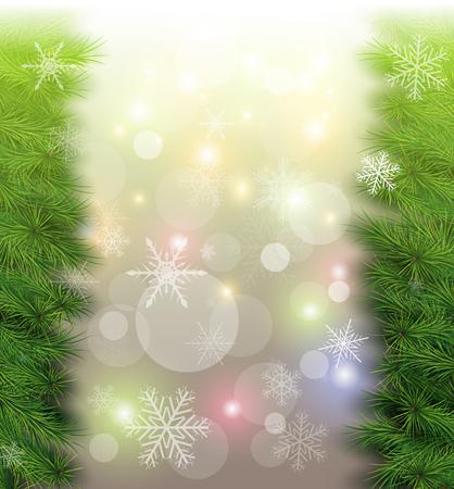 Christmas background illustration. Stock Vector - 22765245