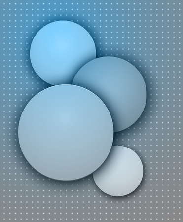 Vector Abstract Background Overlapping circles, vector design.