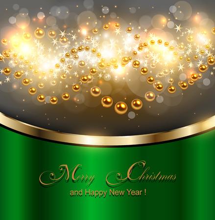 Elegant Christmas , Vector illustration. Stock Vector - 23312843