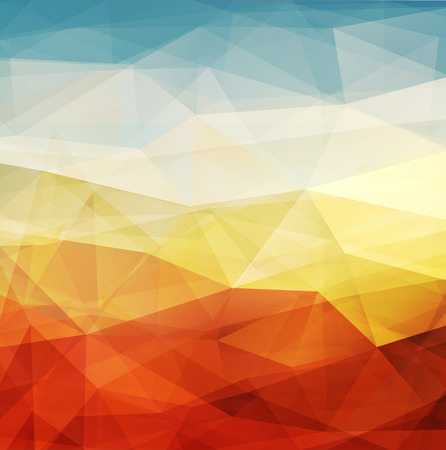 Abstract background warm texture design - vector illustration  Vector