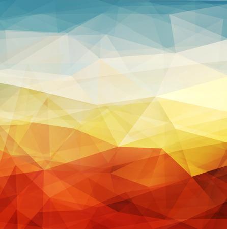 Abstracte achtergrond warme textuur ontwerp - vector illustratie
