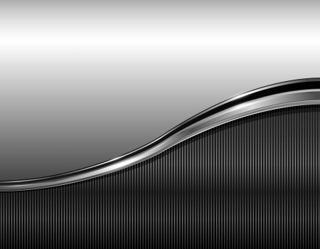 Abstract business background elegant grey, vector illustration