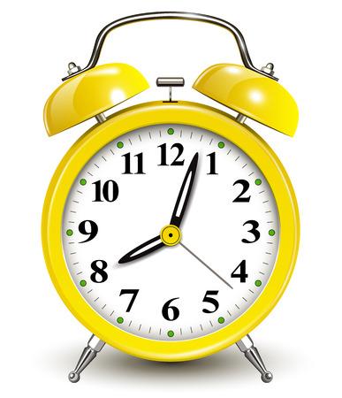 reloj despertador: Despertador, ilustración vectorial