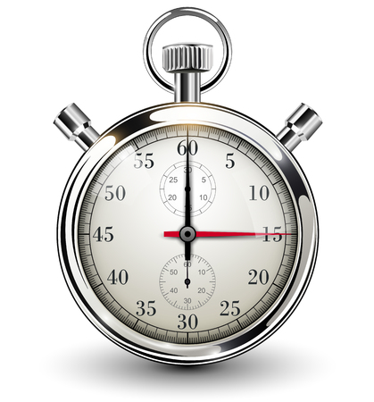 시계, 벡터 일러스트 레이 션을 중지 스톡 콘텐츠 - 24903981