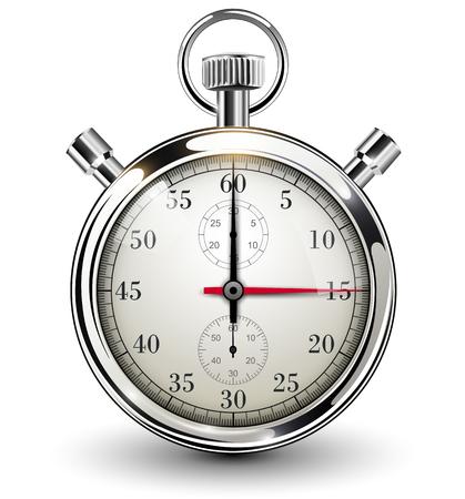 Stopwatch, vectorillustratie Stock Illustratie