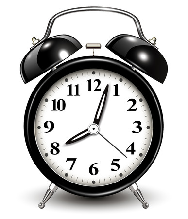 アラーム時計、ベクトル イラスト。