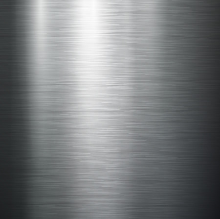 stainless steel: Vector polished metal, steel texture. Illustration