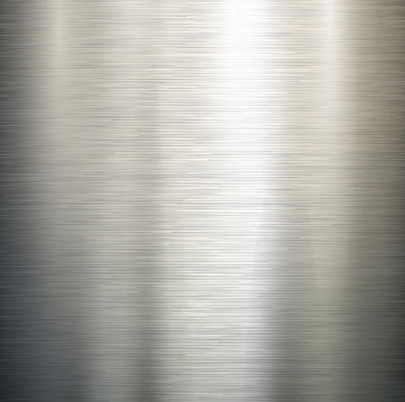 Pulido del metal del vector, textura de acero.