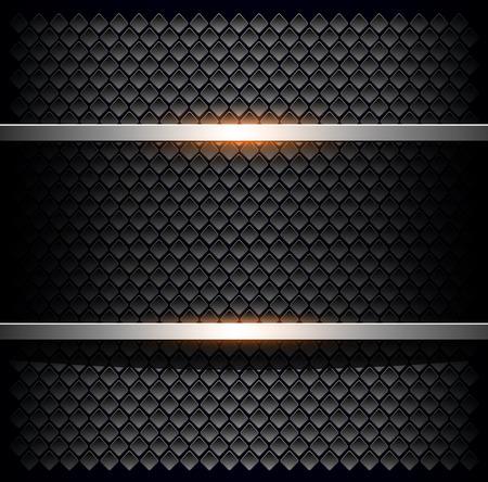 ebon: Background with black hole pattern, vector illustration
