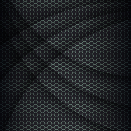Background with hexagons pattern texture, abstract vector background. Vector