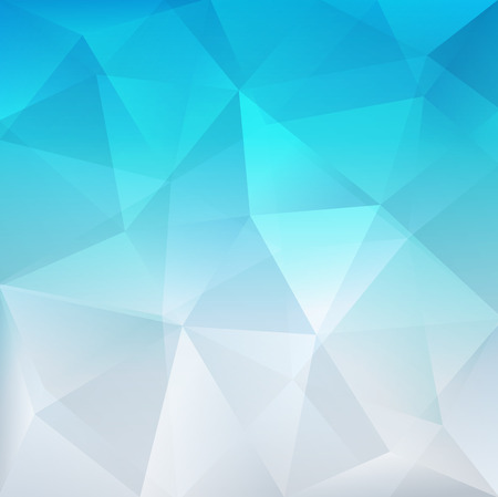 triangle background: Abstract blue background, vector illustration.