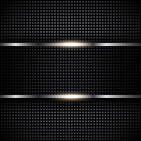 Abstract metal template background design, vector illustration Illustration