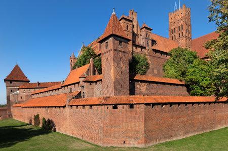 teutonic: Castello di Malbork, Cavalieri Teutonici