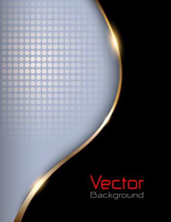 kurve: Betriebswirtschaftlichen Hintergrund, elegante Vektor-Illustration. Illustration