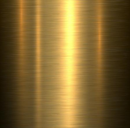 oro: Fondo del metal, oro cepillada placa textura met�lica.