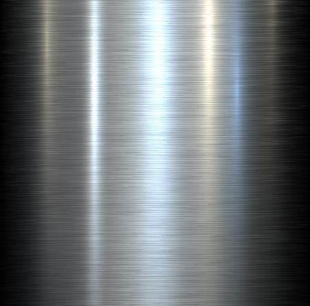 Fond en acier de métal brossé texture métallique avec des reflets. Banque d'images - 35342690