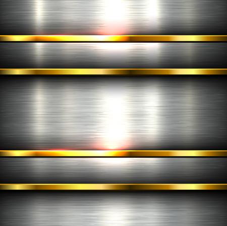 steel plate: Polished metal background steel plate texture.
