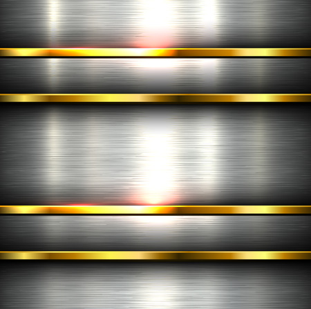 Polished metal background steel plate texture.