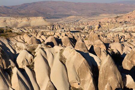 goreme: Cappadocia, Turkey. volcanic rock landscape