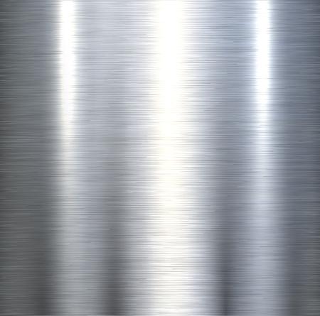 smooth background: Sfondo metallico in acciaio spazzolato struttura metallica con riflessi.