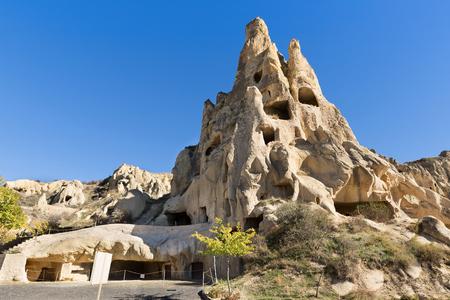goreme: Cappadocia, fantastic rock formation in Goreme national park, Turkey.