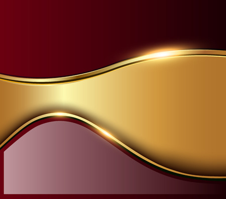bronze: Abstract business background, elegant vector illustration.