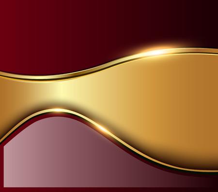 gold background: Abstract business background, elegant vector illustration.