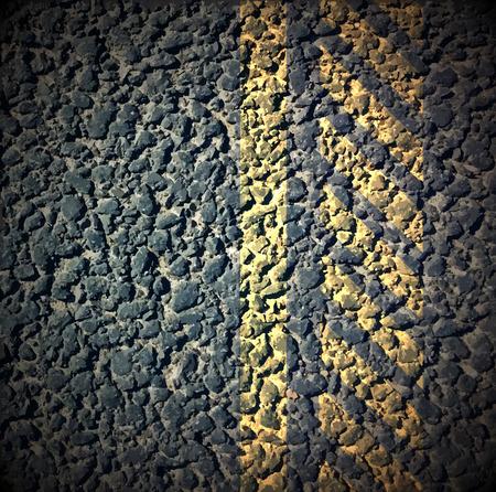 Asphalt as abstract background, vector illustration Vector